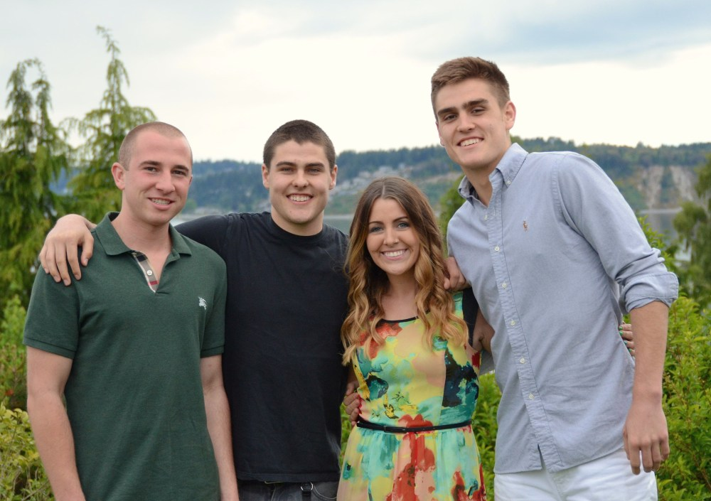 The boys Macey met at WSU-Friends for life and thankful as they are all truly amazing!