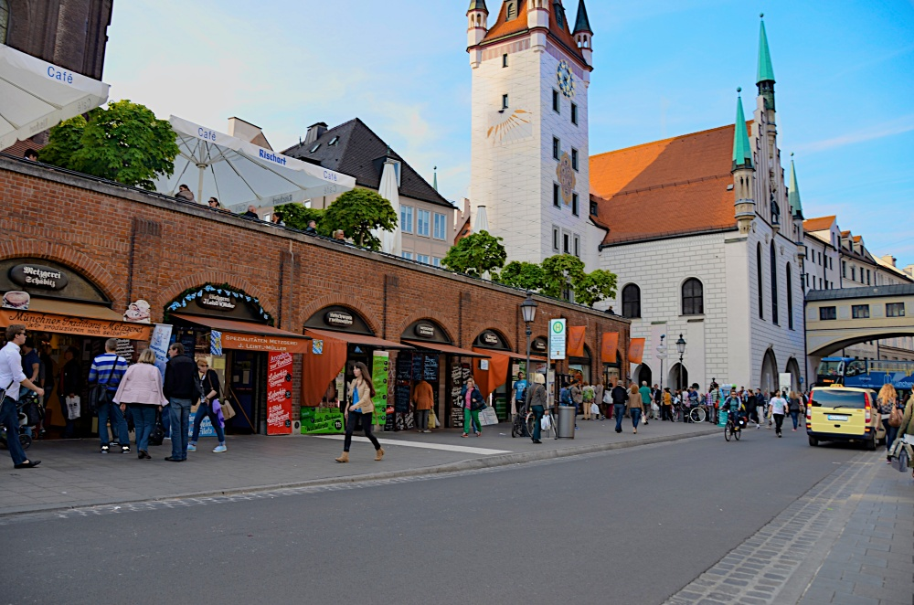 Local streets of Munich